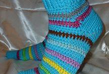 crochet - socks