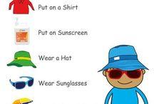 Sun Safety Task - Lara / Sun Safety Task 2016