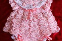 Crochet pink pakkie