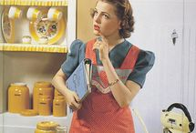 housewife and aprons