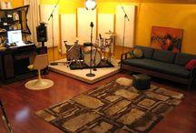 Einrichtung Musik/Studiozimmer