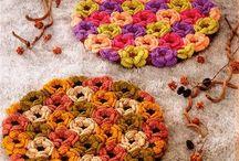 Crochet flowers / by Sandra