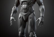 Mechanical, robots, mecha