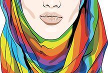 Muslim woman'