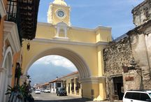 Antigua, Guatemala / Lovely small colonial city with cobblestone streets. Many of the old buildings are being restored.  You can learn to make chocolate at the choclate museum