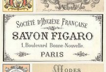 French Vintage Prints