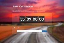 Website, Portfolio / My work for web design