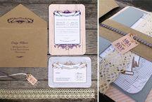 Wedding Invitations by Beechtree Creative