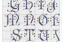 point de croix marquoirs / by marmotte 93