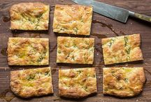 pizza squares & breads