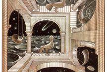 Escher Art / Some of Escher's great pieces of art