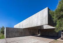 Concrete houses / by Dezeen magazine