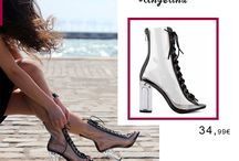 Angelina 34,99€ || Γυναικεία Ανοιξιάτικα Ankle Boots Δετά Διαφανές Ροζ