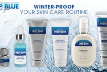 Medical Grade Skincare Powered by Deep Blue Med Spa / As part of our commitment to comprehensive skin rejuvenation Deep Blue Med Spa offers an exclusive line of skin care to address concerns from acne to aging. Our products include cleansers, nourishing moisturizers, protective sunscreens and a range of effective treatments.