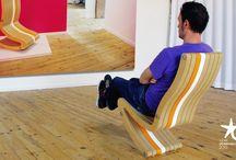 siège LEVITOR / Siège ludique à deux positions d'assise (normale / ludique). Label de l'observeur design 2015 (APCI)