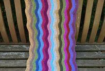 Attic24 Crochet Ripple Blanket in Progress