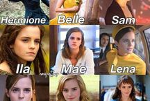 EMMA WATSON / She's my favorite actor . I love her .