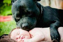 Nala og baby