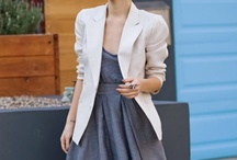 FASHION & STYLE: oversized blazer
