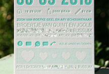 geboortje kaartje / by Kim van Renswouw