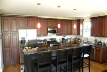 Kitchens / Here are some kitchens we've done!!