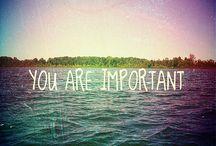 Du är du och du duger.