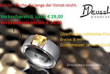 Designschmuck / Swarowsky Elements + Edelstar  bei mir bestellbar +49 15752533732