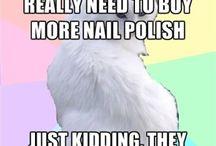 Nail Polish Humor / by Cult Nails