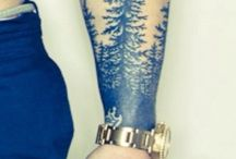 my skin. / Possibly, maybe, cool tattoo.