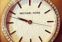 Michael Kors / Watches, bangles, and rings.