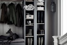 New house inspiration - boot room