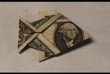 Geld vouwen / Vis vouwen van geld