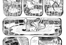Karma's Puddle / This is a short comic story. Idea, screenplay and drawings by Meg Conte.
