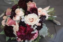 Bridesmaids Bouquets - colour