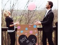 Gender Reveal/ Diaper Party / by Rachel Hartman