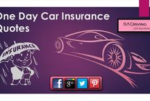 One Day Car Insurance Quote / Baddrivingcarinsurance.com offers auto insurance for one day only to the drivers at affordable charges with online free and easy quotes. Start now to buy online 1 day auto insurance with minimum prices. Apply now to get quick online service!