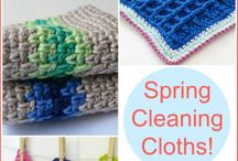 Spring cleaning dish cloths
