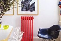 Renkli Kalorifer Petekleri / Colorful Radiator / http://dekorolog.blogspot.com/2013/10/kalorifer-peteklerini-renklendirme-zamani.html  #winter #home #decorationideas #creative #dekorasyon #radiator #colorful #kendinyap #diy