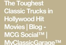 The Toughest Classic Trucks in Hollywood Hit Movies   Blog - MCG Social™   MyClassicGarage™