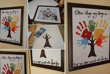 Holiday art with kids