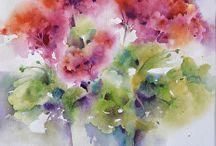 Kedvenc akvarell képeim / akvarellek