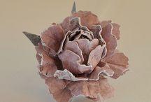 blommor majas paper