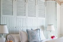 Beach House Ideas / If you're on the coast or just want a room that looks like it's on the coast, check out these wonderful Beach House Ideas!
