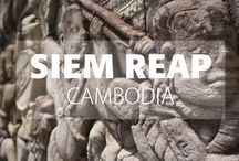 """Siem Reap, Cambodia / Siem Reap, is gateway to one of the most fantastic man-made sights on the planet: the vast complex of temples at Angkor. Seeing the sunrise over the world's largest religious building, Angkor Wat; feeling the gaze of countless stone faces at Bayon Temple or clambering around the jungle ruins of the """"Tomb Raider Temple"""", Ta Prohm; all are unforgettable experiences."""