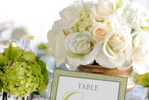 Wedding table decorations / by Polly Cary