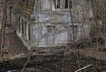 Old and haunted buildings