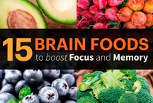 Brain Food / Food for Thought? Snacks, healthy meals, and smoothies to keep the brain healthy.
