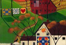 Folk and Naivy art