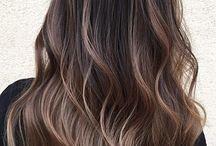 Long hair bayalage