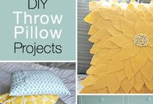 Diy throw pillow projects - great ideas & tutorials